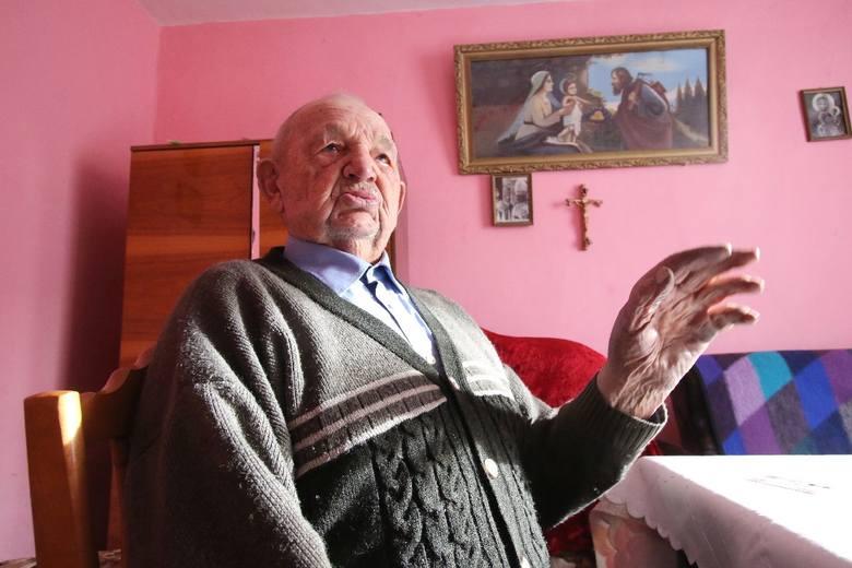 Leon Kaleta. Ma 106 lat i... wypije jednego od czasu do czasu