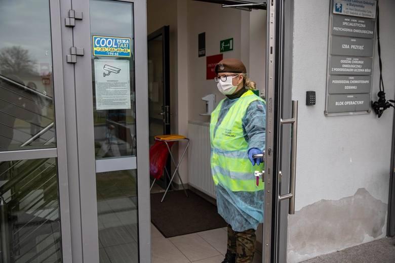 Już sześciu pracowników BCO zakażonych koronawirusem