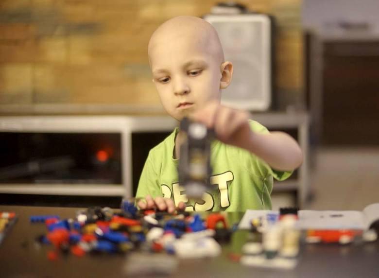 Tymek ma 6,5 roku i neuroblastomę