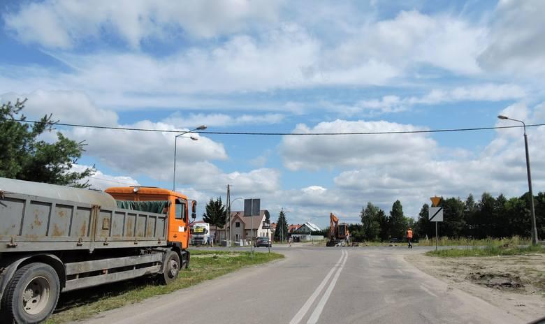 Ostrołęka. Ulica Ostrowska w budowie. Zobacz zdjęcia z placu budowy w lipcu 2019