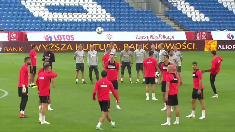 Polska - Chile. Drużyna Nawałki ćwiczyła na murawie stadionu Lecha Poznań [WIDEO]