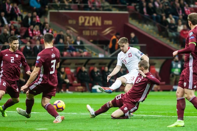 Przewidywany skład reprezentacji Łotwy na mecz z Polską, są starzy znajomi z ekstraklasy... (Zdjęcia)