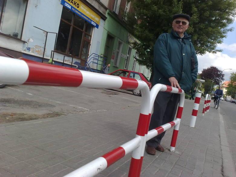 Antoni Micewicz: - Drogowcy mają ludzi w nosie. Postawili sobie barierki tak, jak chcieli i na nikogo nie zwracają uwagi.