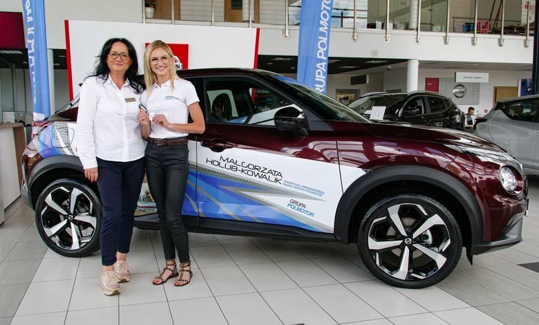Małgorzata Hołub-Kowalik ambasadorką Nissan Polmotor