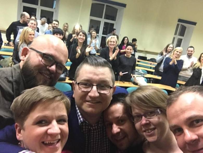 Zjazd absolwentów dziennikarstwa i komunikacji społecznej AHE w Łodzi