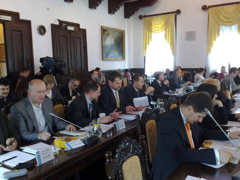 Trwa sesja Rady Miasta w Rzeszowie.