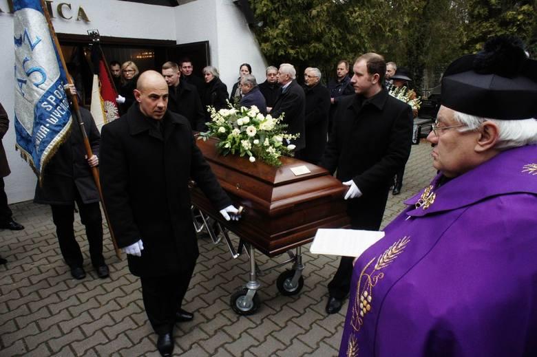Pogrzeb Romana Habera