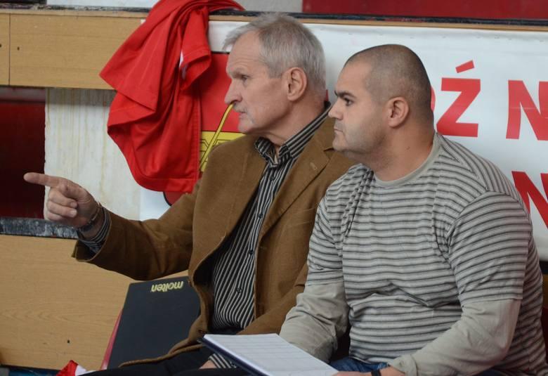 Szkoleniowcy ełkaesianek Witold Bak i Piotr Rozwadowski