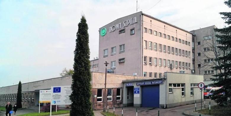 Nowy Szpital w Olkuszu  al. Tysiąclecia 13 - oddział zakaźny dla dorosłych