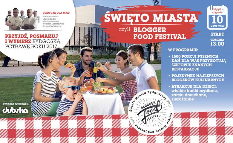 Blogger Food Festival. Wybieramy bydgoską potrawę roku