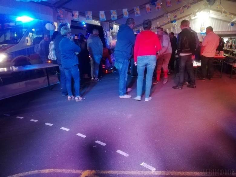 Atak nożownika na Oktoberfest w Biadaczu. Do zdarzenia doszło we wrześniu 2019 roku. Mateusz R. miał wbić nóż kuchenny w tułów jednego z uczestników