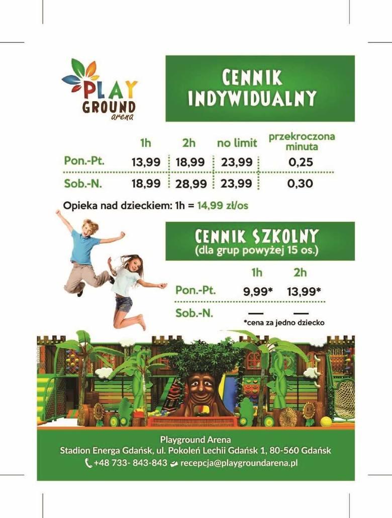 Playground Arena  - nowa atrakcja dla dzieci przy stadionie [CENNIK, GODZINY OTWARCIA]