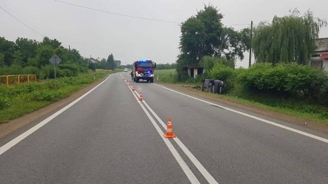 Tragedia w Pęchowie w powiecie sandomierskim. Nie żyje pasażer samochodu