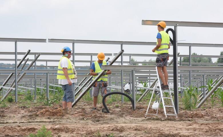 Uroczyste otwarcie projektu Sulechów II i III -  składających się z 22 instalacji PV o łącznej mocy 22 MWp - 15 lipca 2021