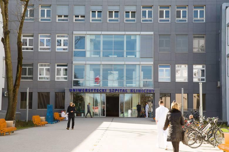 Uniwersytecki Szpital Kliniczny w Białymstoku wprowadził zakaz odwiedzin