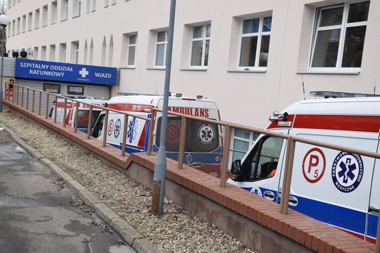 Codzienność na szpitalnym oddziale ratunkowym w Zielonej Górze.