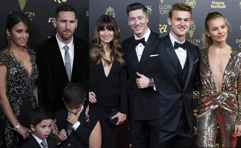 Złota Piłka ma także swój czerwony dywan. Nie zabrakło na nim piłkarek, piłkarzy i ich pięknych partnerek, które zaprezentowały się w wyjątkowych kreacjach.