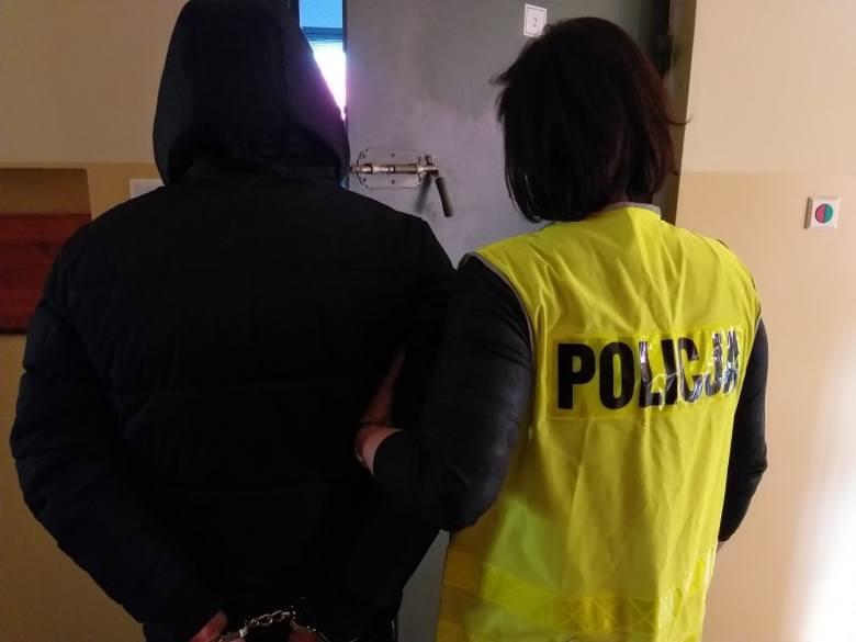Poszukiwany listem gończym zatrzymany przez węgorzewskich policjantów w jednym z łomżyńskich hosteli