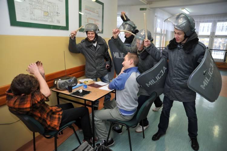 Zespół Szkół Budowlano-Geodezyjnych wspomina stan wojenny (zdjęcia)
