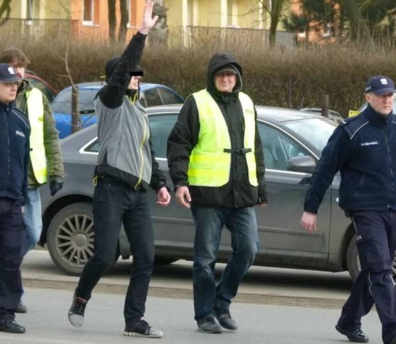 Skazany w sprawie śmierci rowerzysty w Pabianicach potrącił pieszego! Był pijany