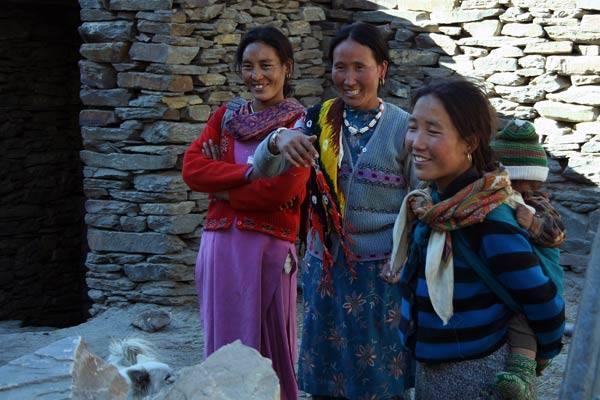 Podróz po Indiach<br /> Wioska w Himalajach.