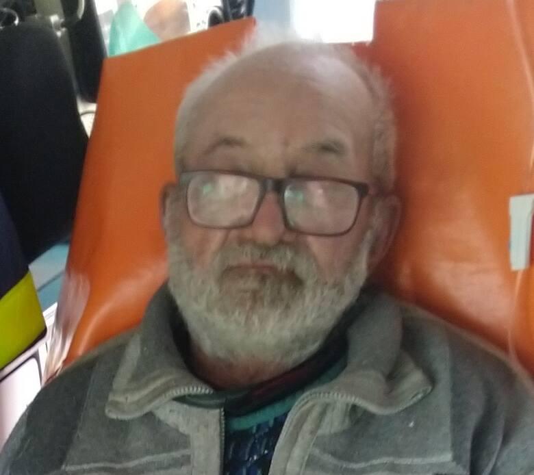 Zaginiony Stanisław Bielka z Gubina. Policja prosi o pomoc w poszukiwaniu 77-latka.