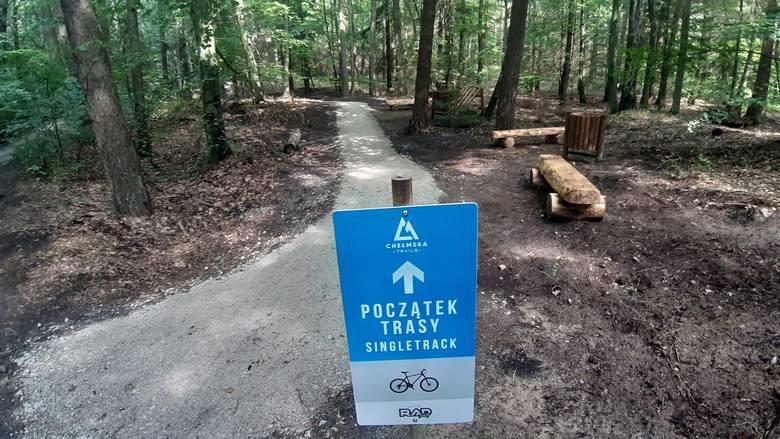 Single Track na Górze Chełmskiej to nowa atrakcja dla rowerzystów lubiących jazdę w nieco trudniejszym terenie. Projekt ścieżki powstał w ramach koszalińskiego