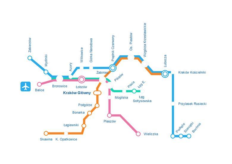 Również takimi trasami, zdaniem radnego Jakuba Łoginowa, powinny kursować pociągi Szybkiej Kolei Aglomeracyjnej