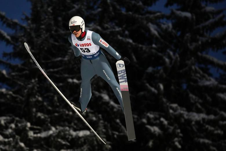 Piotr Żyła jest mistrzem świata na skoczni normalnej