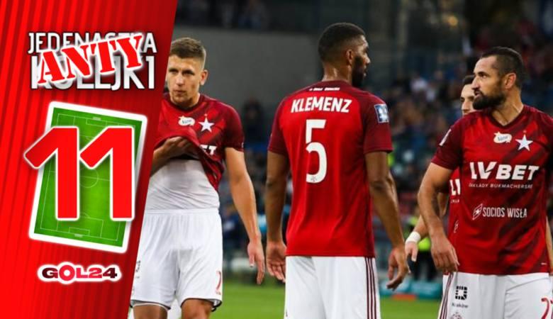 """Liczba """"13"""" okazała się wyjątkowo pechowa dla Wisły Kraków. """"Biała Gwiazda"""" przegrała piąty mecz z rzędu i to aż"""