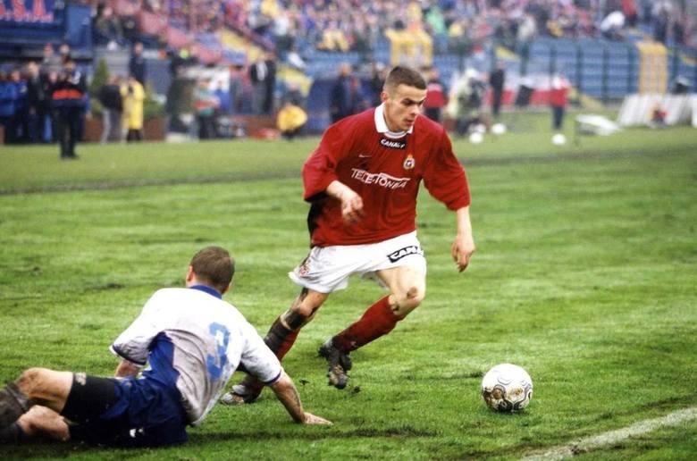 21.04.2001: Wisła - Odra Wodzisław: to w tym meczu Brożek strzelił swa pierwszą bramkę w ekstraklasie