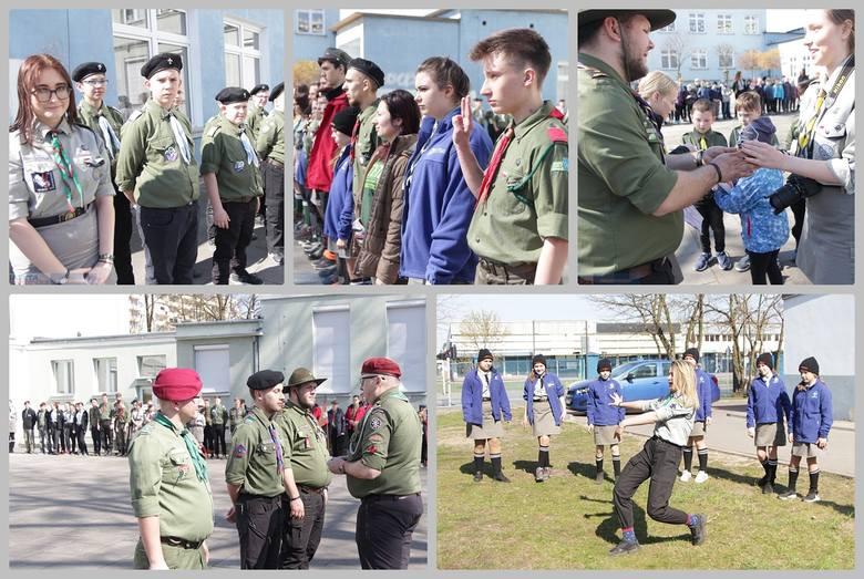 W Szkole Podstawowej nr 12 we Włocławku stacjonowali uczestnicy 30. Rajdu Nocnego ZHP. Na miejscu było 23 patroli m.in. z Włocławka, Kowala, Świecia,