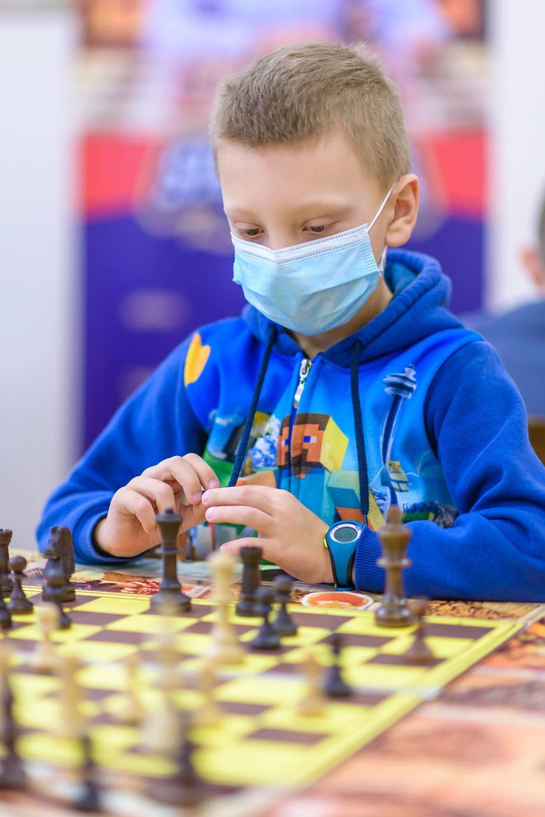Młodzi szachiści wzięli udział w 3. rundzie Białostockiej Lidze Szkolnej