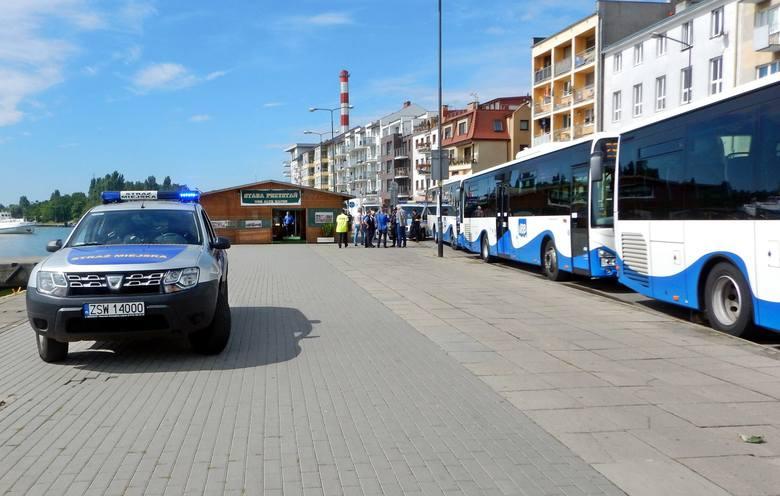W sierpniu autobusy niemieckiego przewoźnika wjechały na przystanki na terenie Świnoujścia, bez uprzednich ustaleń z miastem.