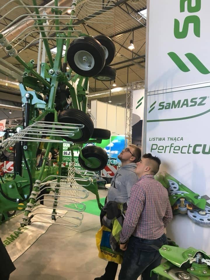 SaMASZ na Mazurskim Agro Show pokazał nowości (zdjęcia)