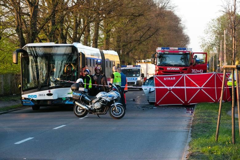 Wypadek na ul. Metalowej w Szczecinie