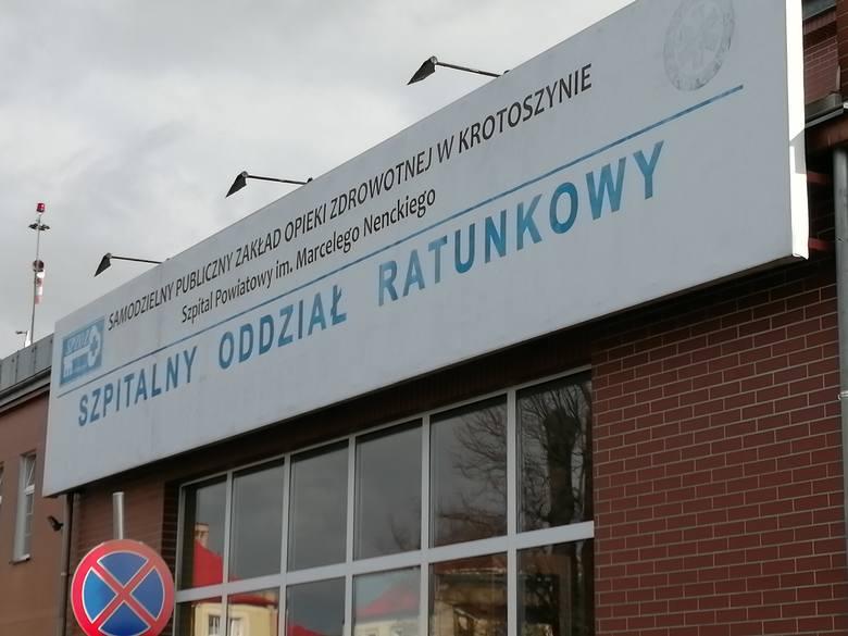 Dwaj pacjenci zakażeni koronawirusem wyjechali 27 i 30 marca ze szpitala w Krotoszynie