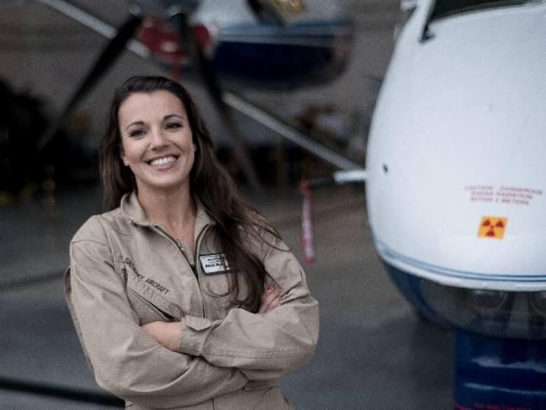 - Mielecki M-28 to najlepszy samolot, na jakim dotąd latałam. Jest stabilny i niezawodny - ocenia Paulina, pilot doświadczalny w Polskich Zakładach Lotniczych