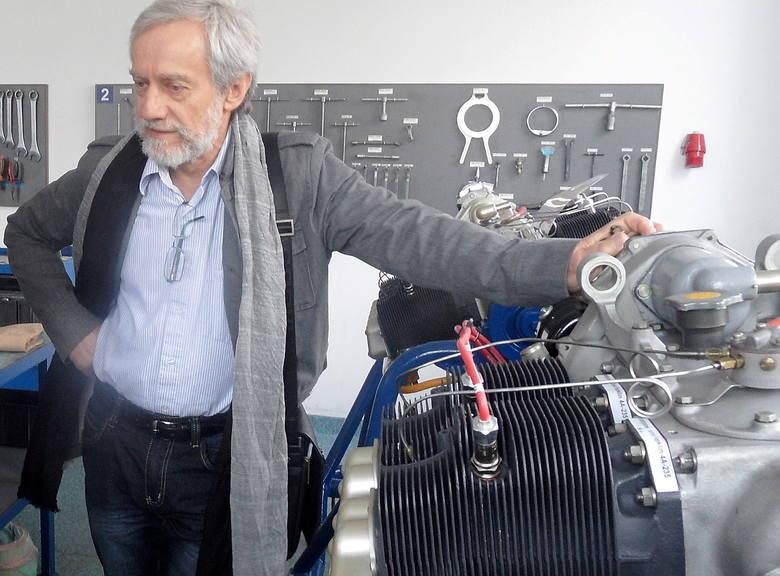 - Mamy prototyp 4- i 6-cylindrowego silnika Franklin - objaśnia Roman Sadowski. - Mówiąc w uproszczeniu, zmieniliśmy stopień sprężania i dostosowaliśmy