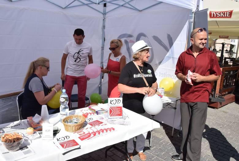 Punkt informacyjny Komitetu Obrony Demokracji powstał w Kielcach