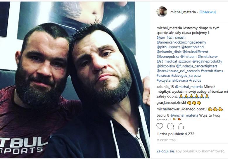 Michał Materla trenuje w Kalifornii. Walka z Askhamem o pas na gali KSW 49