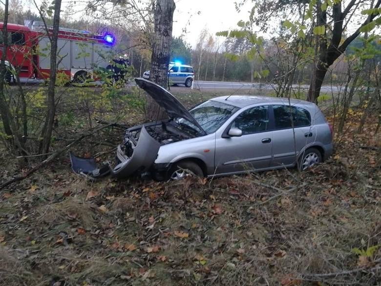 Do tego wypadku doszło w piątek około godziny 6:25. Było to na drodze krajowej nr  65 (Knyszyn - Mońki).Zdjęcia dzięki uprzejmości OSP Knyszyn.
