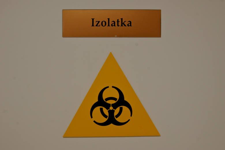 Zamknięta Izba Przyjęć Szptala Miejskiego w Rzeszowie. Niewykluczone, że trafiła tu pacjentka z koronawirusem
