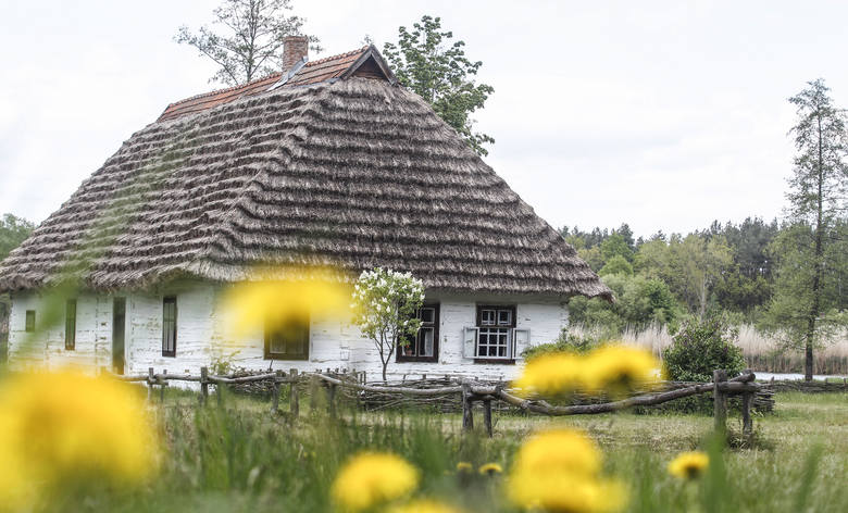 """Skansen w Kolbuszowej to wyjątkowa pamiątka naszej historii. To właśnie to miejsce wybrał Wojciech Smarzowski, gdy kręcił swój głośny film - """"Wołyń""""."""