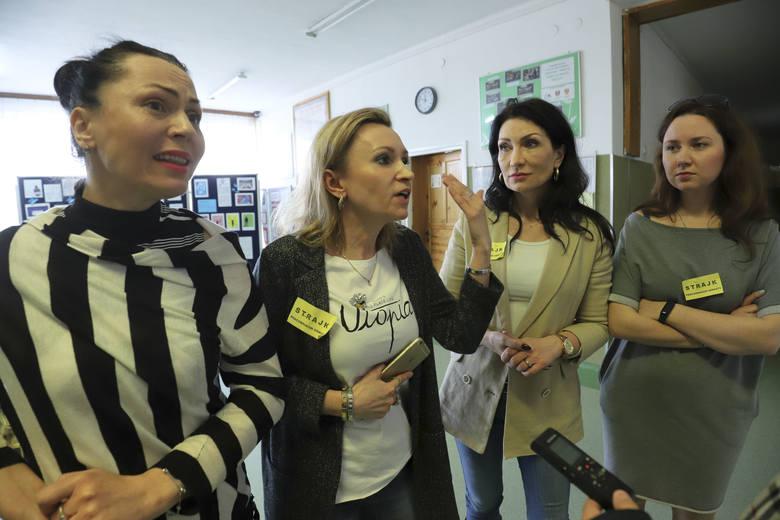 Strajk nauczycieli 2019: W Białymstoku strajkuje ponad 60 procent nauczycieli i pracowników oświaty