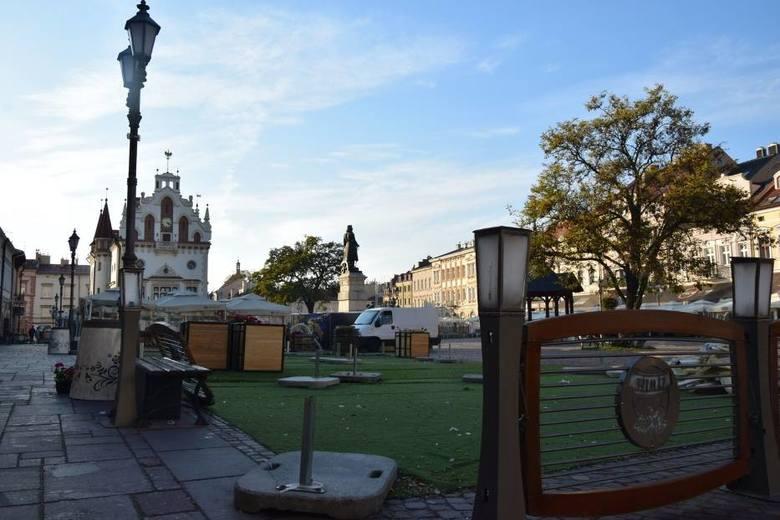 Urząd Miasta Rzesowa zarobił ok. 400 tys. złotych na ogródkach piwnych na rzeszowskim Rynku