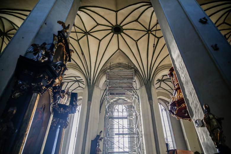 W związku z zagrożeniem katastrofą budowlaną zamknięto do odwołania Kościół św. Mikołaja w Gdańsku