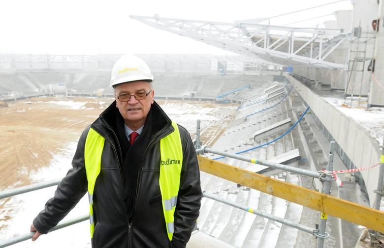 Zdzisław Hołysz, prezes MOSiR, spółki, która ma zarządzać stadionem