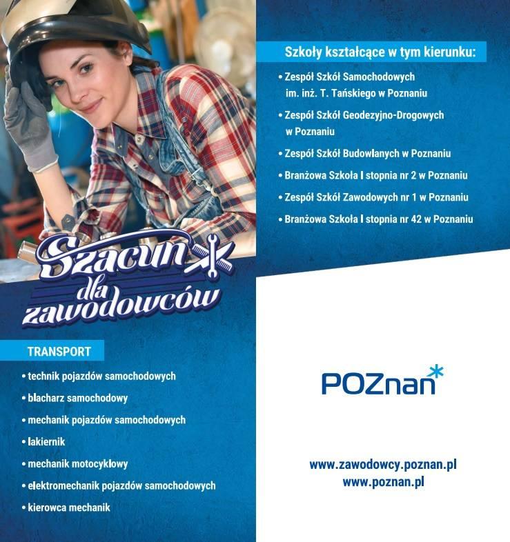 Podczas Areny Zawodów (11 października 2018) na specjalnych wyspach będzie można zapoznać się z profesjami, których można się nauczyć w szkołach aglomeracji poznańskiej. Prezentujemy zawody i umiejętności, które posiądą poszczególni fachowcy w trakcie kształcenia zawodowego w technikach i...