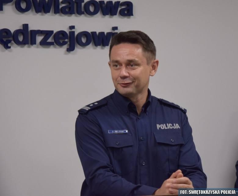 Dotychczasowy zastępca jędrzejowskiego komendanta, młodszy inspektor Rafał Zieliński został Komendantem Powiatowym Policji w Końskich.